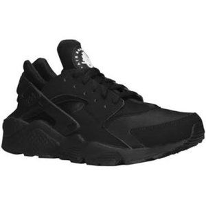Nike mens air huarache black slipon shoes sneakers
